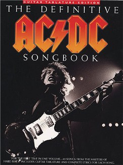 The Definitive AC/DC Songbook Books | Guitar Tab