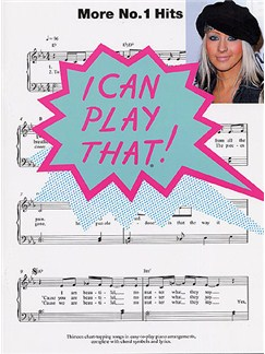 I Can Play That! More No.1 Hits Books | Piano, Lyrics & Chords