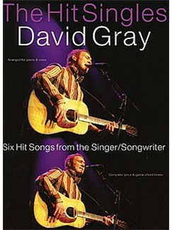 The Hit Singles: David Gray Books | Piano, Voice, And Guitar Chord Boxes