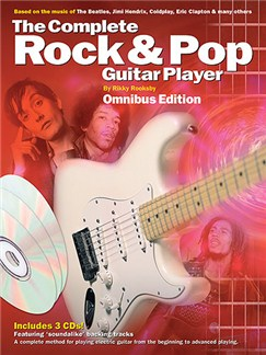 Complete Rock And Pop Guitar Player Omnibus Edition (Book And 3CDs) Books and CDs | Guitar