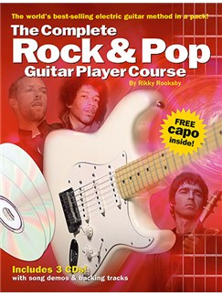 Complete Rock And Pop Guitar Player Course Pack Books and CDs | Guitar