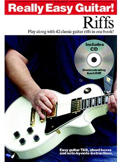 Really Easy Guitar! Riffs Books and CDs | Guitar