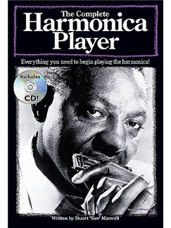The Complete Harmonica Player Books, CDs and Instruments | Harmonica