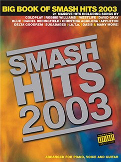 Big Book Of Smash Hits 2003 Books | Piano, Voice and Guitar Chord Boxes