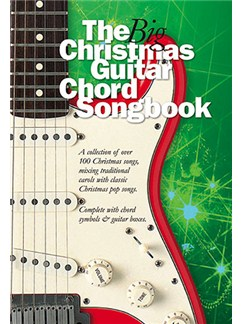 The Big Christmas Guitar Chord Songbook Books | Lyrics and Chords