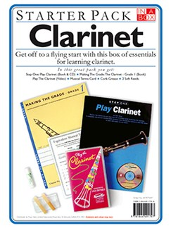 In A Box Starter Pack: Clarinet Books, CDs and DVDs / Videos | Clarinet