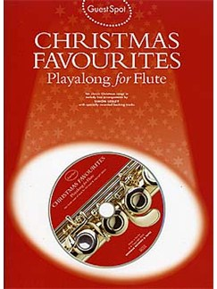 Guest Spot: Christmas Favourites Playalong For Flute CD et Livre | Flûte Traversière