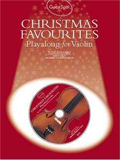 Guest Spot: Christmas Favourites Playalong For Violin Books and CDs | Violin