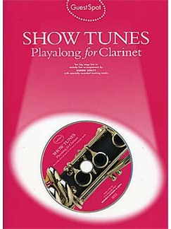 Guest Spot: Show Tunes Playalong For Clarinet Books and CDs | Clarinet