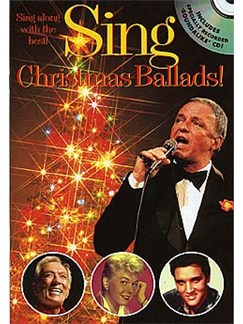 Sing Christmas Ballads! Books and CDs | Melody, Lyrics and Chords