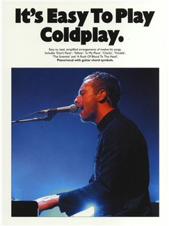 It's Easy To Play Coldplay Livre | Piano, Chant et Guitare (Symboles d'Accords)