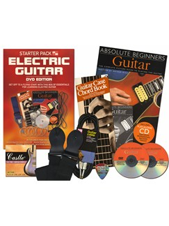 In A Box Starter Pack: Electric Guitar (DVD Edition) Books, CDs and DVDs / Videos | Guitar