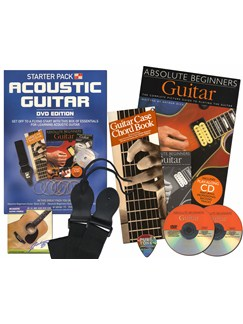 In A Box Starter Pack: Acoustic Guitar (DVD edition) Books, CDs and DVDs / Videos | Guitar