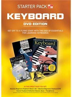 In A Box Starter Pack: Keyboard (DVD Edition) Books, CDs and DVDs / Videos | Keyboard