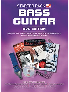 In A Box Starter Pack: Bass Guitar (DVD Edition) Books, CDs and DVDs / Videos | Bass Guitar