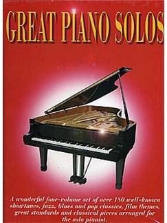 Great Piano Solos - Four Volume Set Books | Piano