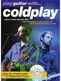 Play Guitar With... Coldplay Books and CDs | Guitar