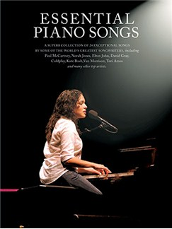 Essential Piano Songs - Book 1 Books | Piano and Voice, with Guitar chord boxes