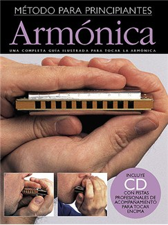 Empieza A Tocar Armonica (Incluye CD) Books and CDs | Harmonica
