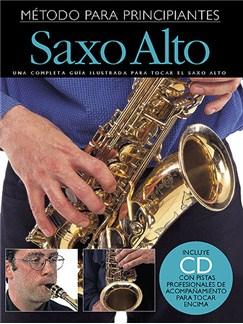 Empieza A Tocar Saxofon Alto (Incluye CD) CD y Libro | Saxofón Alto