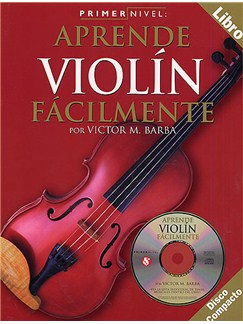 Primer Nivel: Aprende Violin Facilmente Books and CDs | Violin