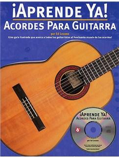 Aprende Ya! Acordes Para Guitarra CD y Libro | Guitarra