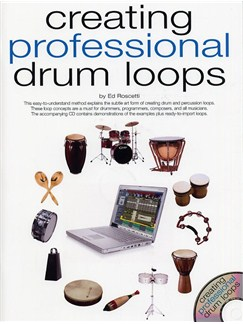 Creating Professional Drum Loops Books and CDs | Drums, Percussion