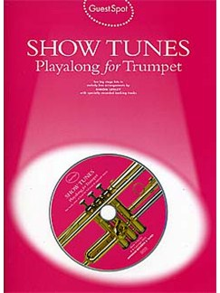 Guest Spot: Show Tunes Playalong For Trumpet Books and CDs | Trumpet