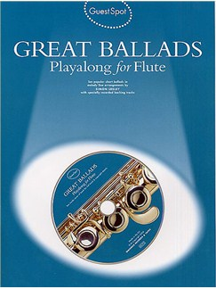Guest Spot: Great Ballads Playalong For Flute Books and CDs | Flute