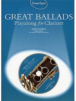 Guest Spot: Great Ballads Playalong For Clarinet Books and CDs | Clarinet