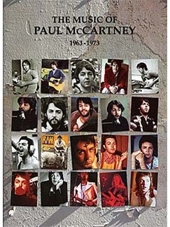 The Music Of Paul McCartney 1963-1973 Books | Piano, Voice & Guitar With Chord Boxes