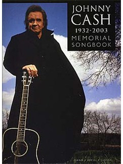 Johnny Cash 1932-2003: Memorial Songbook Books | Piano and Voice, with Guitar Chord Boxes