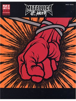 Metallica: St. Anger (Bass) Books | Bass Guitar Tab