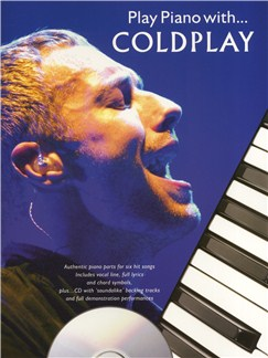 Play Piano With... Coldplay CD et Livre | Piano, Chant et Guitare (Boîtes d'Accord)
