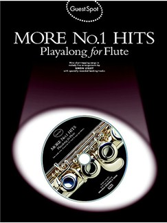 Guest Spot: More No.1 Hits Playalong For Flute Books and CDs | Flute