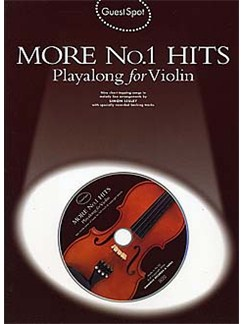 Guest Spot: More No.1 Hits Playalong For Violin Books and CDs | Violin