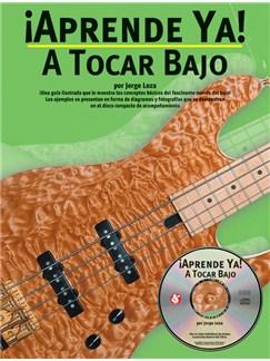 Aprende Ya: A Tocar Bajo CD y Libro | Guitarra Bajo