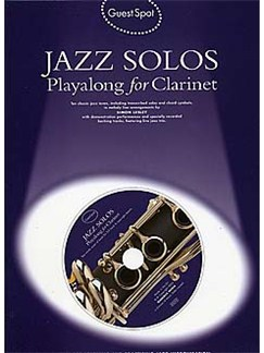 Guest Spot: Jazz Solos Playalong For Clarinet Books and CDs | Clarinet