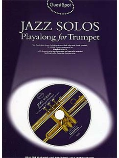 Guest Spot: Jazz Solos Playalong For Trumpet CD et Livre | Trompette