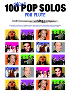 100 More Pop Solos For Flute Books | Flute