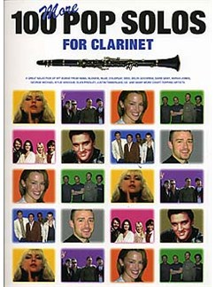 100 More Pop Solos For Clarinet Books | Clarinet (with Chord Symbols)