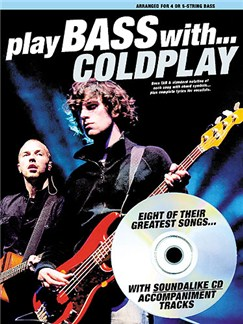 Play Bass With... Coldplay Books and CDs | Bass Tab