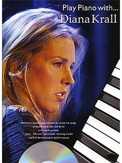 Play Piano With... Diana Krall Books and CDs | Piano, Vocal & Guitar (with Chord Boxes)