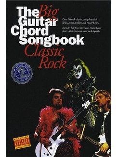 The Big Guitar Chord Songbook: Classic Rock 2 Books | Lyrics & Chords (with Chord Boxes)
