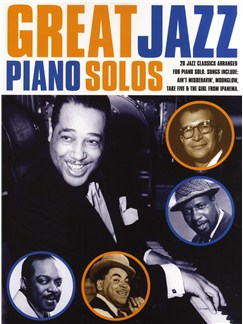 Great Jazz Piano Solos Books | Piano