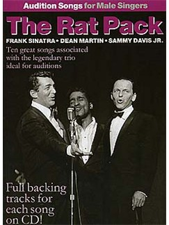 Audition Songs For Male Singers: The Rat Pack Books and CDs | Piano, Vocal & Guitar