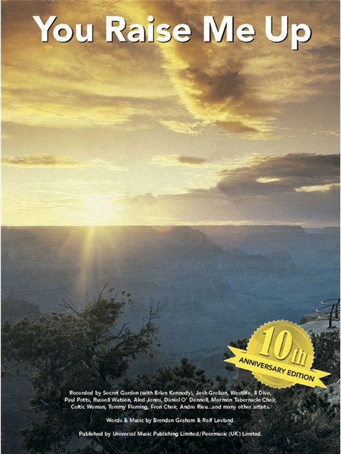 Secret Garden: You Raise Me Up (10th Anniversary Edition) - Piano ...