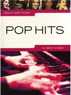 Really Easy Piano: Pop Hits Books | Piano, Voice