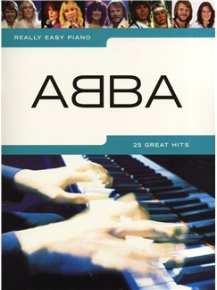 Really Easy Piano: Abba Books | Piano