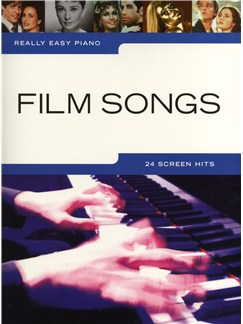 Really Easy Piano: Film Songs Livre | Piano, Piano, Chant et Guitare